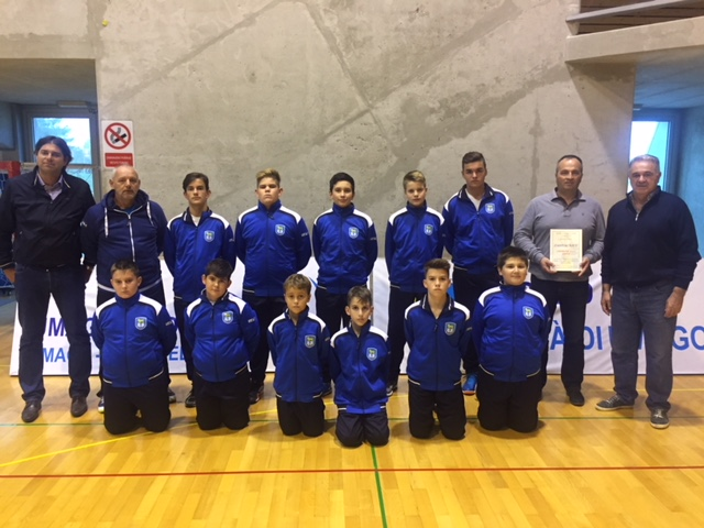 Valuable Donation to the Men's Volleyball Club in Umag