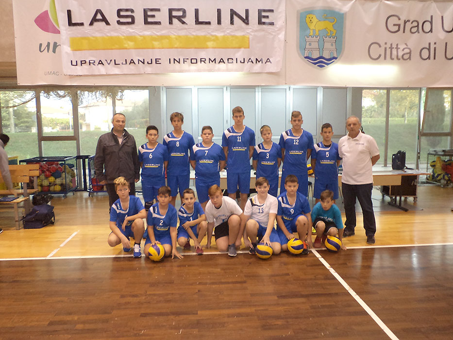 Volleyball Club Umag cadets premiered in county league